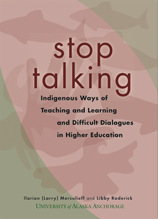 Stop Talking book cover