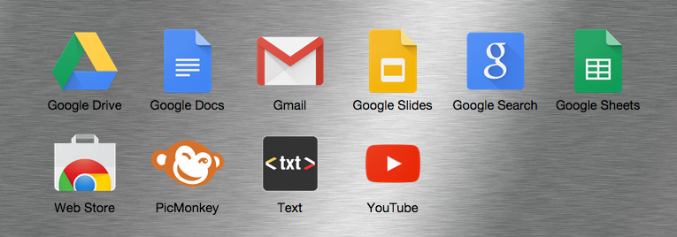Google Apps screenshot of what is on my short list